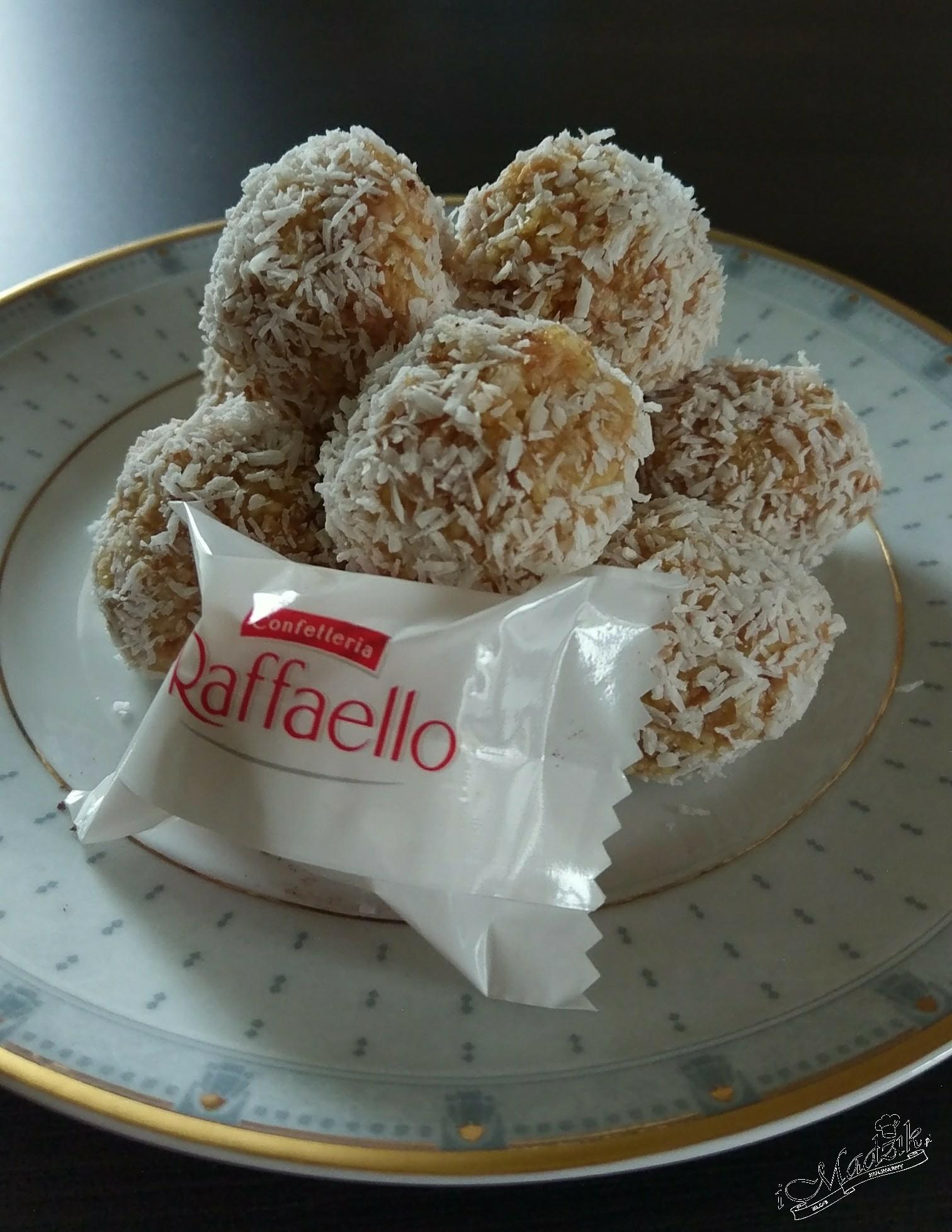Raffaello z kaszy jaglanej