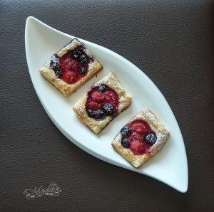 Szybkie ciasteczka z owocami i miodem