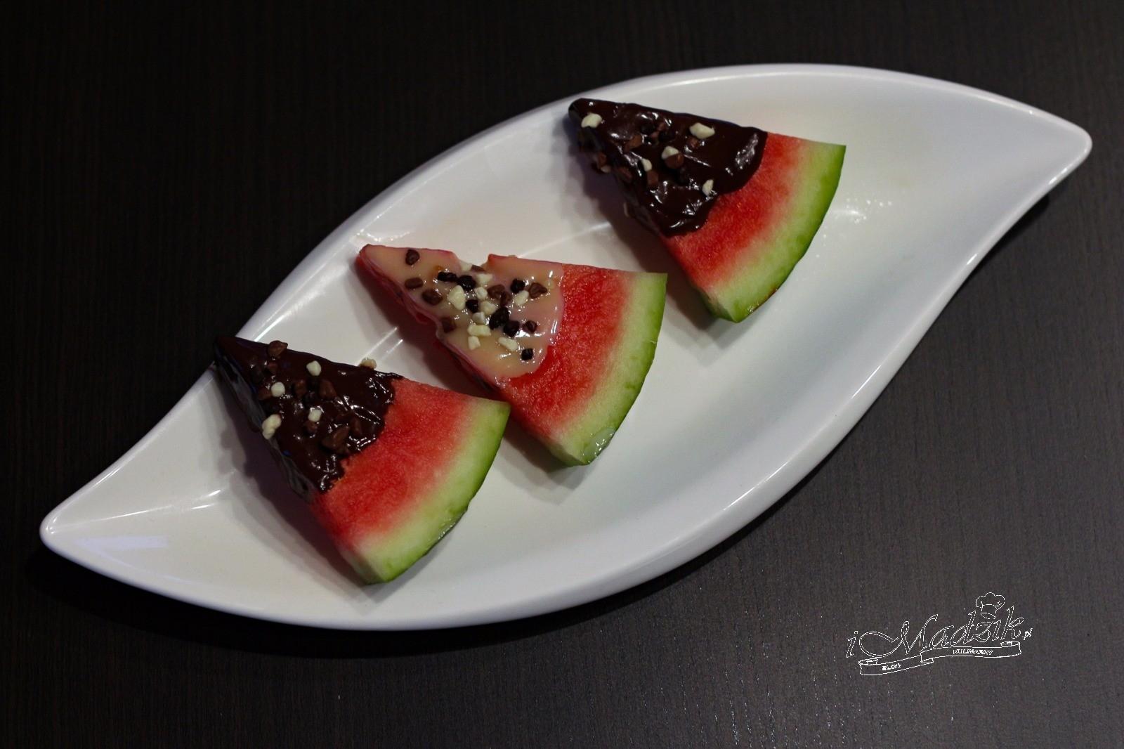 Arbuz z czekoladzie