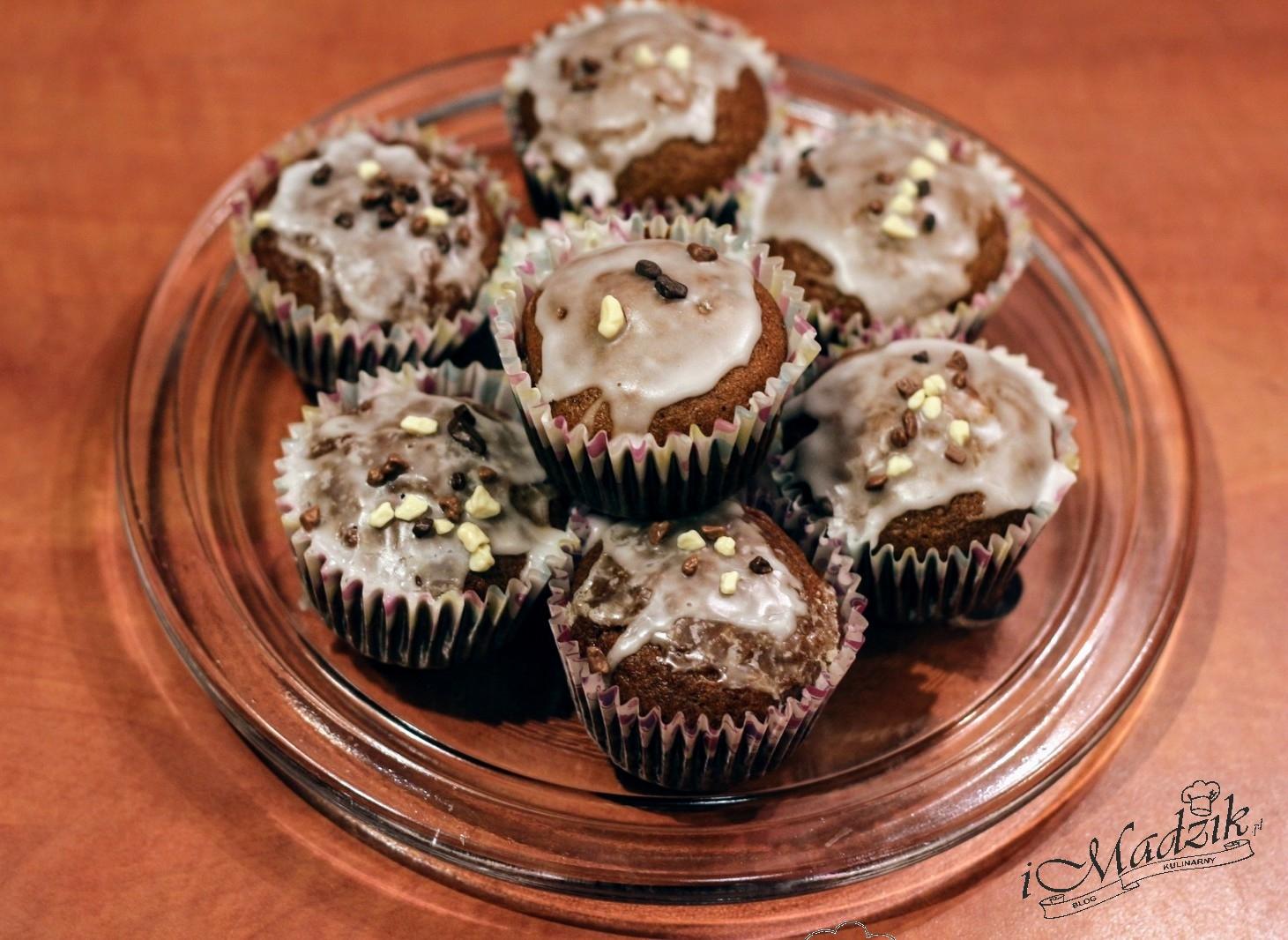 Muffinki dyniowo-jabłkowe