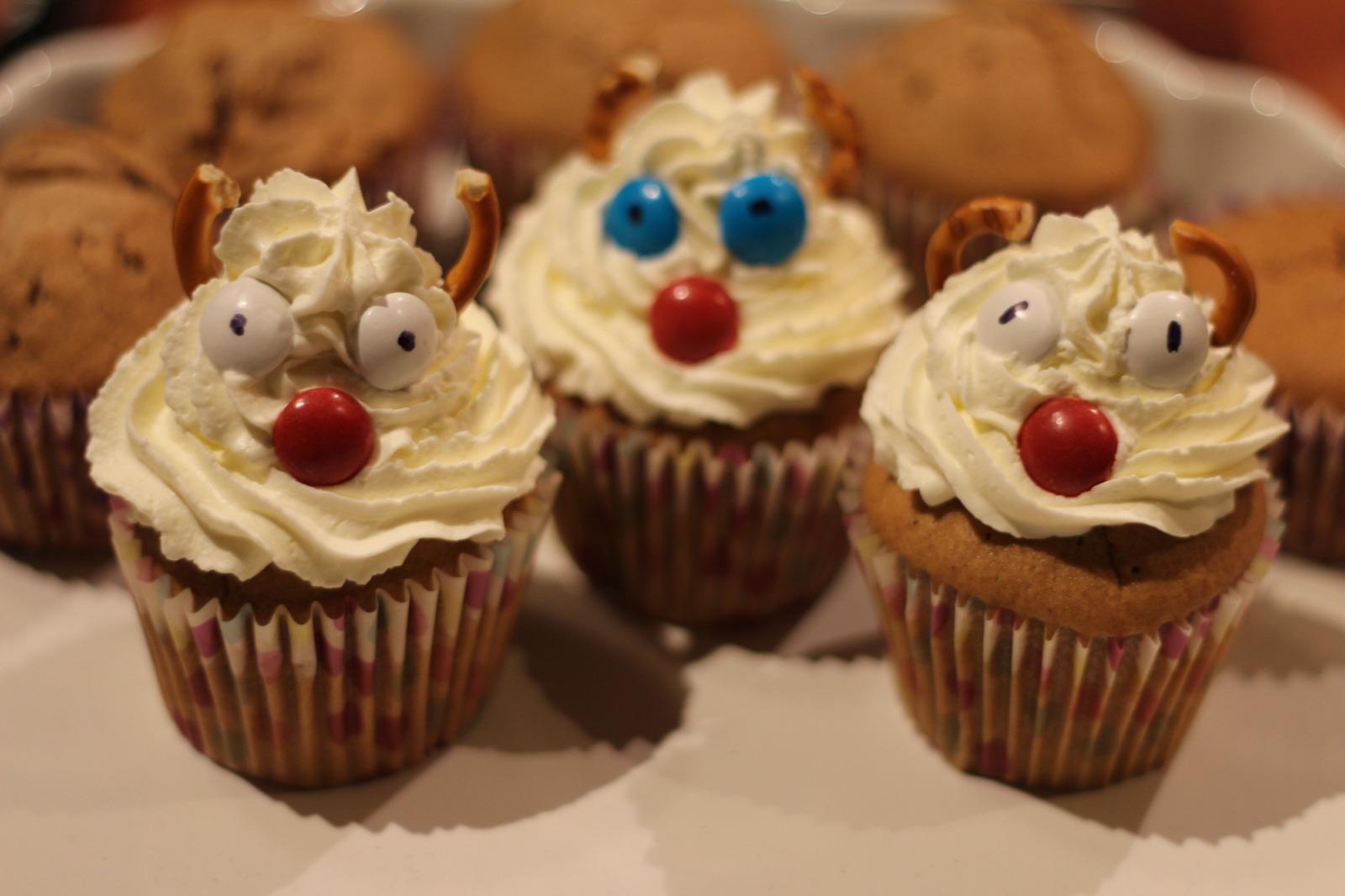 Muffinki cynamonowe Rudolfy