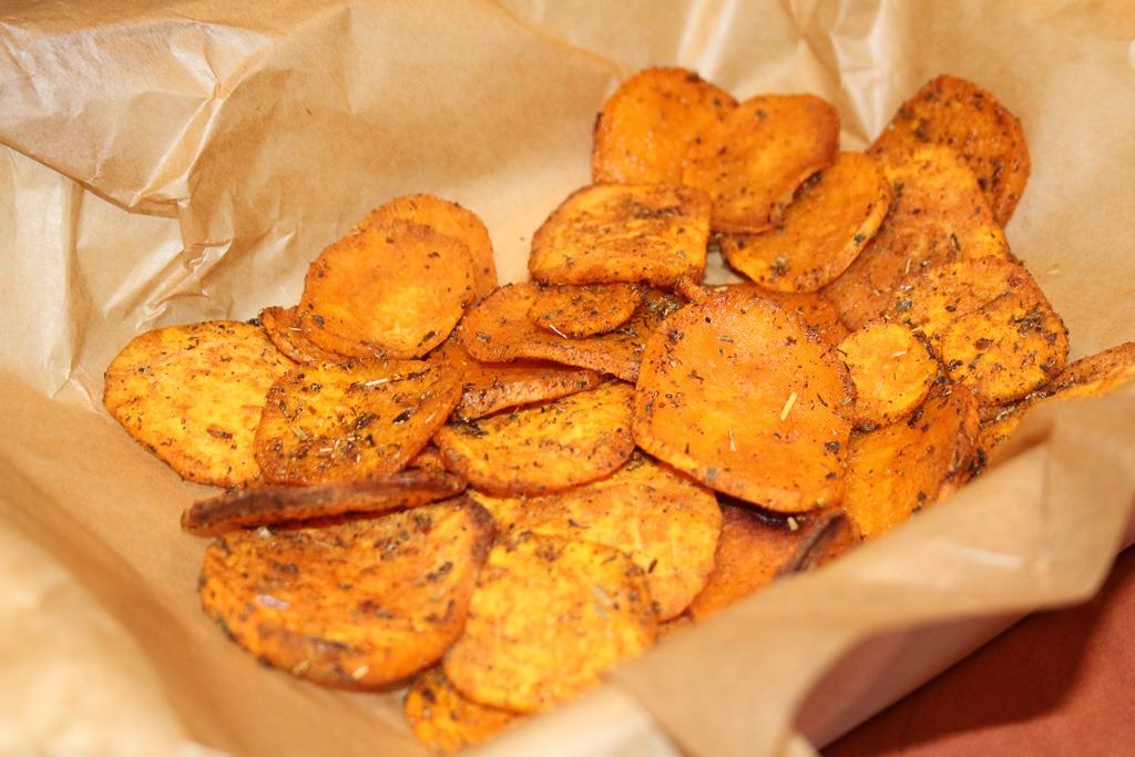 Chipsy z batatów
