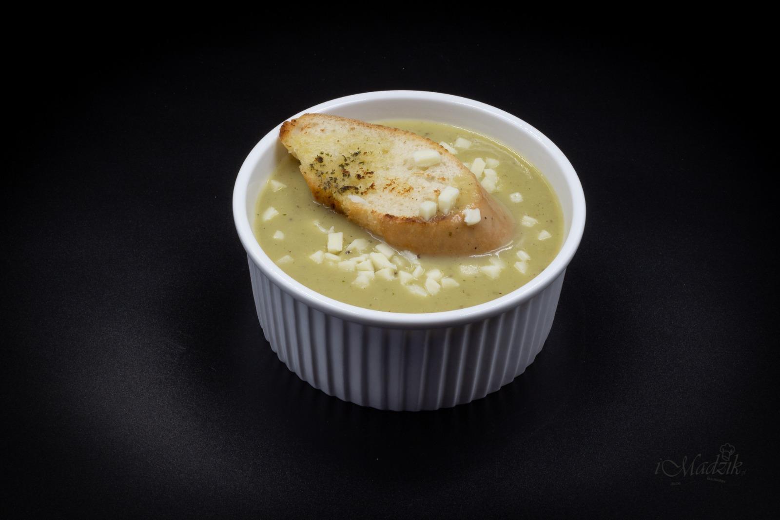 Zupa - krem czosnkowy